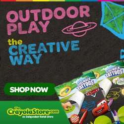 Spring as Sprung at CrayolaStore.com!