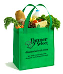 One Reusable Grocery Bag