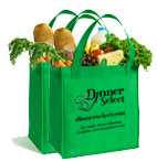 Two Reusable Grocery Bags