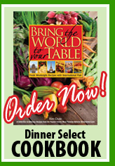 Dinner Select Cookbook - Buy Now!